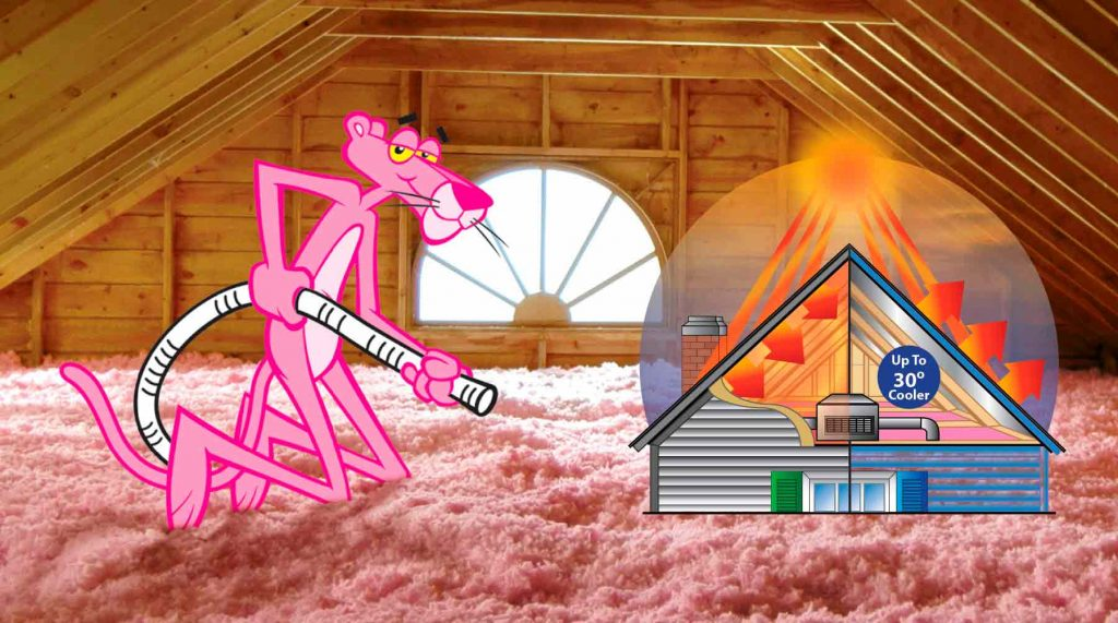 Blown insulation advantages