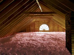 well insulated attic