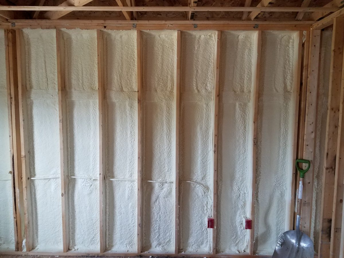 spray foam insulation in catham kent